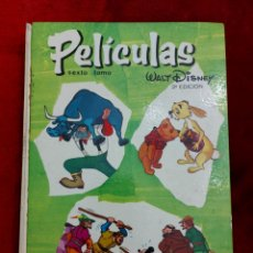 Tebeos: COLECCION JOVIAL PELÍCULAS WALT DISNEY TOMO 6 -VI - SEXTO TOMO 1968 SEGUNDA EDICION/MICKEY/DONALD/. Lote 233453300