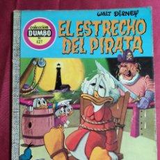 Tebeos: COLECCION DUMBO . N* 127. EL ESTRECHO DEL PIRATA. ERSA. 1975. 1ª EDICION. Lote 233770395