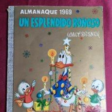 BDs: COLECCION DUMBO . N* 46. ALMANAQUE 1969. UN ESPLENDIDO ROÑOSO. ERSA. 1968. 1ª EDICION. Lote 234039930