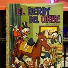 Tebeos: EL DERBY DEL ORBE Y EXPEDICION AL VALLES PERDIDO WALT DISNEY. Lote 234546575