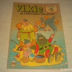 Tebeos: VIKIE , EL CABALLERO ENLATADO . N. 28. Lote 235663285