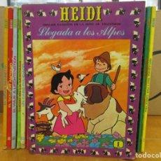 Tebeos: COLECCION HEIDI - DEL 1 AL 37 CORRELATIVOS - ERSA. Lote 235981180