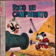 Tebeos: RICO DE CAMPEONATO Y.. - WALT DISNEY DUMBO Nº60 - 1971. Lote 240044020