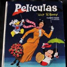 Tebeos: PELICULAS WALT DISNEY TOMO IV - COLECCION JOVIAL - QUINTA EDICION, 1968 -. Lote 240111250