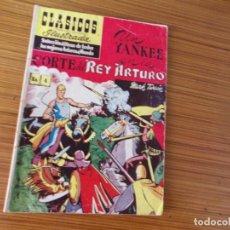 Tebeos: CLASICOS DE LA LITERATURA UNIVERSAL ILUSTRADA Nº 4 EDITA ERSA. Lote 243531250