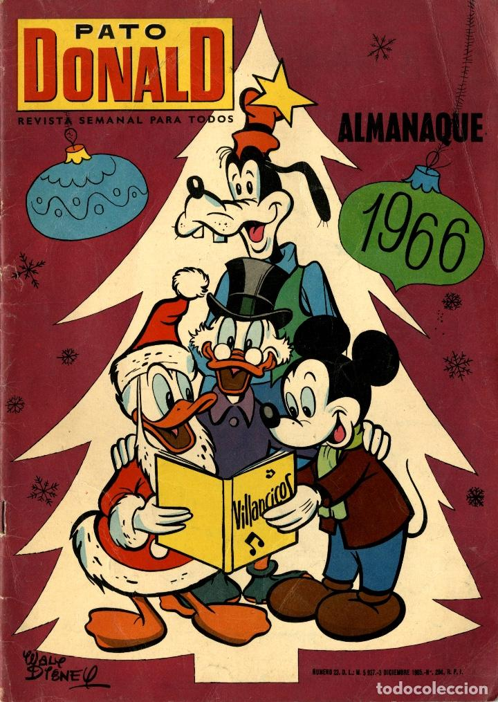 PATO DONALD. ALMANAQUE 1966 (E.R.S.A., 1965) (Tebeos y Comics - Ersa)