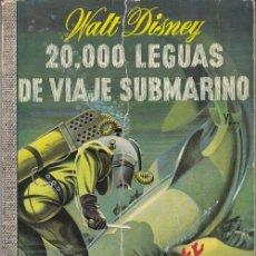 Tebeos: COLECCION DUMBO Nº 33 - 20.000 LEGUAS DE VIAJE SUBMARINO - WALT DISNEY. Lote 254139680