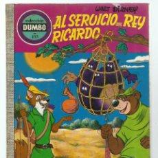 Tebeos: DUMBO 133: AL SERVICIO DEL REY, 1976, EDICIONES RECREATIVAS, BUEN ESTADO. Lote 257284660