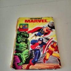 Tebeos: COMIC SUPERHEROES MARVEL EDICIONES LAIDA AÑO 1972. Lote 260863805