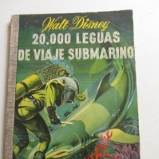BDs: COLECCION DUMBO Nº 33 - 20.000 LEGUAS DE VIAJE SUBMARINO - WALT DISNEY ARX96. Lote 262096670