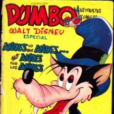 Tebeos: COMIC COLECCION DUMBO BAMBI ANDES LO QUE ANDES NO ANDES POR LOS ANDES. Lote 262179375