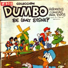 Tebeos: COLECCION DUMBO Nº 508. Lote 262204705
