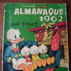 Tebeos: ALMANAQUE 1962 WALT DISNEY. Lote 264689574