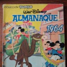 Tebeos: ALMANAQUE 1964 WALT DISNEY. Lote 264690419