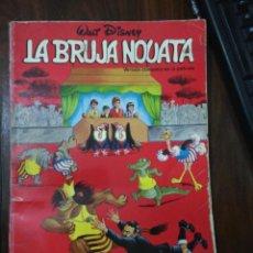 Tebeos: LA BRUJA NOVATA - LIBRO CÓMIC VERSIÓN DE LA PELÍCULA WALT DISNEY COLECCIÓN CUCAÑA Nº 9 , 1973. Lote 267130124