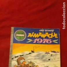 Giornalini: DUMBO 132 - ALMANAQUE 1976 - W. DISNEY - RUSTICA. Lote 270572763