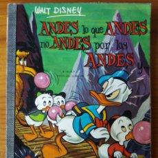 Tebeos: ANDES LO QUE ANDES NO ANDES POR LOS ANDES. Lote 272134518