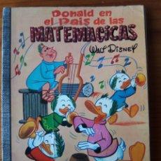 Tebeos: DONALD EN EL PAIS DE LAS MATEMATICAS. Lote 272134923