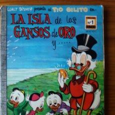 Tebeos: LA ISLA DE LOS GANSOS DE ORO. Lote 272137508