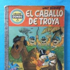 Giornalini: WALT DISNEY COLECCIÓN DUMBO Nº 123 EL CABALLO DE TROYA (1975, ERSA). Lote 276091918