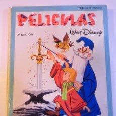 Tebeos: PELICULAS WALT DISNEY - TOMO III - E.R.S.A. - 1966 – TERCERA EDICION. Lote 276203043