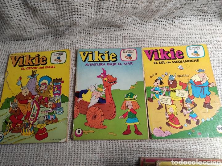 Tebeos: VIKIE EL VIKINGO DE LA TELE - LOTE DE 33 EJEMPLARES -EDICIONES RECREATIVAS - Foto 2 - 136604706