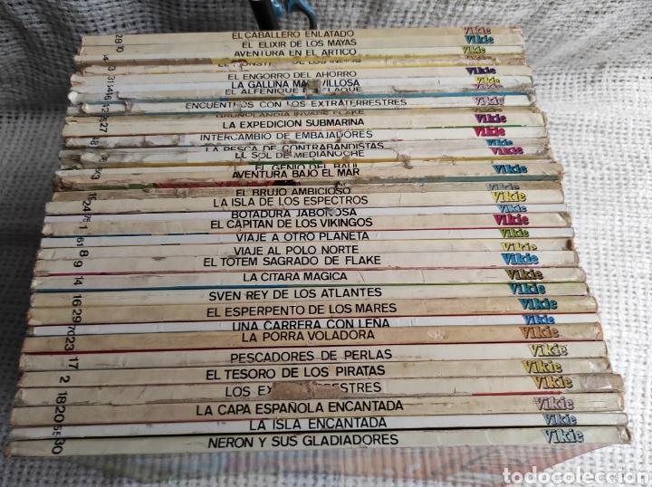 Tebeos: VIKIE EL VIKINGO DE LA TELE - LOTE DE 33 EJEMPLARES -EDICIONES RECREATIVAS - Foto 3 - 136604706