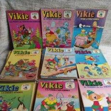 Tebeos: VIKIE EL VIKINGO DE LA TELE - LOTE DE 33 EJEMPLARES -EDICIONES RECREATIVAS. Lote 136604706