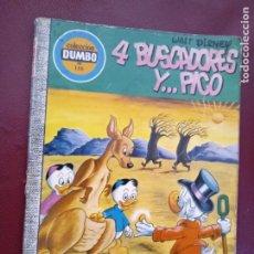 Tebeos: COMIC DUMBO Nº 116 4 BUSCADORES Y PICO ORIGINAL ERSA AÑOS 70. Lote 278207358