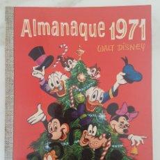 Tebeos: PRACTICAMENTE NUEVO ALMANAQUE 1971 COLECCION DUMBO 71 WALT DISNEY ERSA DONALD MICKEY DON. Lote 288914073