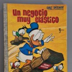 Tebeos: UN NEGOCIO MUY ELÁSTICO COLECCION DUMBO 70 WALT DISNEY ERSA DONALD MICKEY DON. Lote 289467723