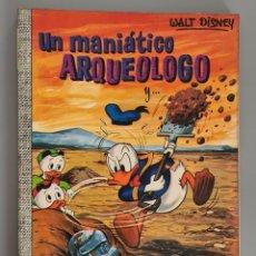 Tebeos: UN MANIÁTICO ARQUEOLOGO COLECCION DUMBO 76 WALT DISNEY ERSA DONALD MICKEY DON. Lote 289467983
