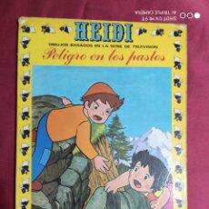 Tebeos: HEIDI.Nº 2. PELIGRO EN LOS PASTOS. EDICIONES RECREATIVAS 1975. ERSA. Lote 289521648