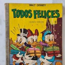 Tebeos: TODOS FELICES COLECCION DUMBO 3 WALT DISNEY ERSA DONALD MICKEY DON. Lote 290016018
