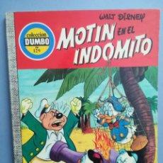 Livros de Banda Desenhada: DUMBO. Nº 129. MOTÍN EN EL INDÓITO . ERSA. ¡DIFÍCIL!. Lote 293151028
