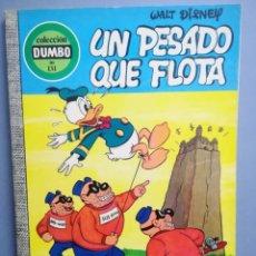 Livros de Banda Desenhada: DUMBO. Nº 131. IN PESADO QUE FLOTA . ERSA. ¡DIFÍCIL!. Lote 293151128