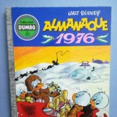 Livros de Banda Desenhada: DUMBO. Nº 132. ALMANAQUE 1976 . ERSA. ¡DIFÍCIL!. Lote 293151183