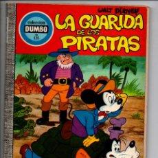 Livros de Banda Desenhada: LA GUARIDA DE LOS PIRATAS. COLECCION DUMBO Nº 135. WALT DISNEY. ERSA, 1976. Lote 295498223