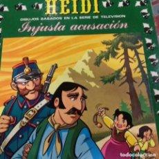 Tebeos: HEIDI Nº 21 EDICIONES RECREATIVAS ERSA 1977 INJUSTA ACUSACIÓN. Lote 296885578