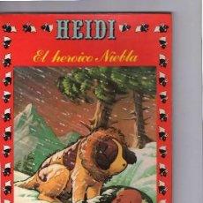 Tebeos: HEIDI Nº 18 EDICIONES RECREATIVAS ERSA 1977. EL HEROICO NIEBLA. Lote 296885778