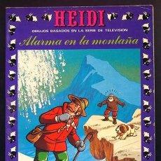Tebeos: HEIDI Nº 19 EDICIONES RECREATIVAS ERSA 1977. ALARMA EN LA MONTAÑA. Lote 296885963