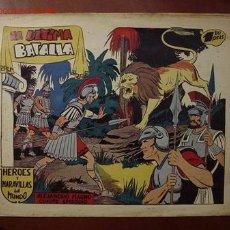 Tebeos: HEROES Y MARAVILLAS DEL MUNDO (MARCO). (LA ULTIMA BATALLA). Lote 26756251