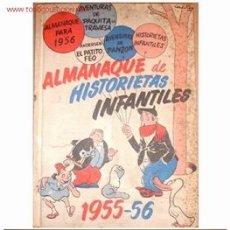 Tebeos: ALMANAQUE DE HISTORIETAS INFANTILES 1955-56. Lote 10333087