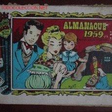 BDs: ALICIA ( ALMANAQUE 1959 ). Lote 26161664