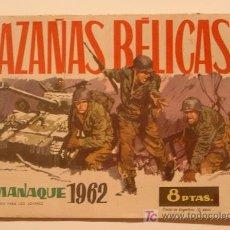 Tebeos: HAZAÑAS BÉLICAS AÑO 1962, ORIGINAL. Lote 25727898