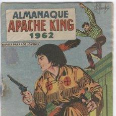 Tebeos: ALMANAQUE DE APACHE KING 1962, ORIGINAL,, EL DE LA IMAGEN. Lote 12191735