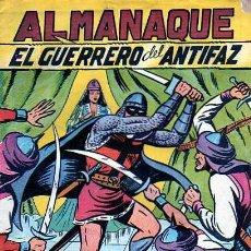 Tebeos: ALMANAQUE EL GUERRERO DEL ANTIFAZ 1951. Lote 4149086