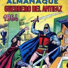 Tebeos: ALMANAQUE GUERRERO DEL ANTIFAZ 1964. Lote 4149191