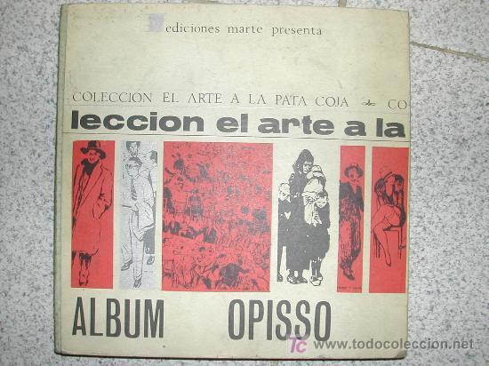 ALBUM RICARDO OPISSO. AÑO 1965. MAS DE 200 PAGINAS TAPAS DURAS (Tebeos y Comics - Tebeos Almanaques)