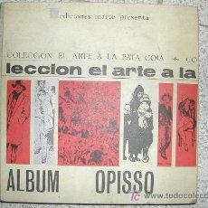 Tebeos: ALBUM RICARDO OPISSO. AÑO 1965. MAS DE 200 PAGINAS TAPAS DURAS. Lote 77415618